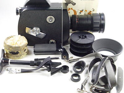 NEW ! 16mm zoom reflex cine movie camera Krasnogorsk-3 M42 Kit  s/n 9101400 Box.