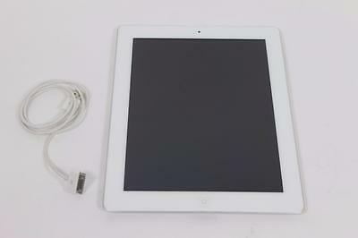Very Good Used White Apple iPad 2 16GB A1395 WiFi Tablet 2nd Generation