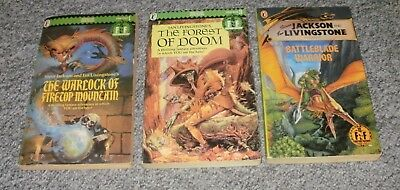 3 X Fighting Fantasy  Gamebooks
