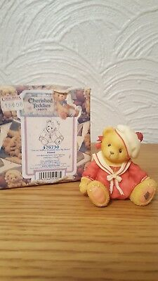 Cherished Teddies Donna - 1999 Exhibition Exclusive - New With Box