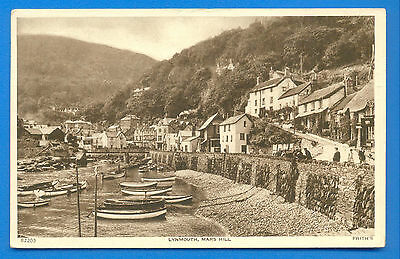 Lynmouth,mars Hill.postcard Posted 1947