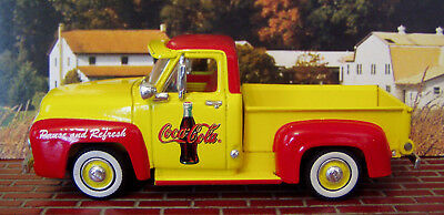 1956 FORD F100 TRUCK - MATCHBOX 1:43 SCALE #125-9me COCA COLA PAUSE AND REFRESH