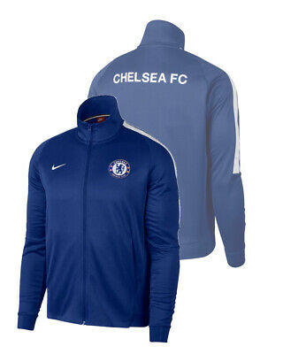 Chelsea Fc Nike Pre match Jacket 2017 18 Athentic Cup Navy 51ab34dfe