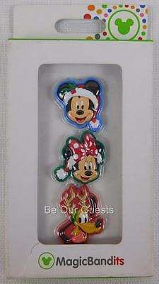 Disney Parks Magic Bandits Christmas Holiday Mickey Minnie Goofy Charms New