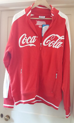 FAB Official ASICS COCA COLA Torino Olympic 2006 Zip Up JACKET-XL- NEW(06)&TAGS