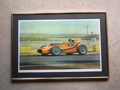 MIKE HAWTHORNE Print by Roy Knockolds