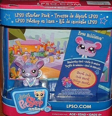 Littlest Pet Shop LPSO STARTER PACK BREE NIBBLESON - MOUSE
