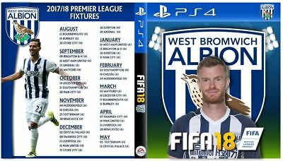 West Brom Chris Brunt PS4 Box Cover Art - Playstation 4 Custom Cover