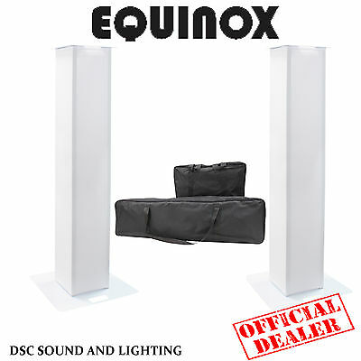 EQUINOX 1.5M DJ PLINTH KIT 2 x PODIUMS WITH SCRIMS & SPEAKER BRACKETS PLUS BAG