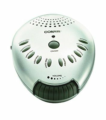 Conair Sound Therapy Sleep Machine. White Noise Soothing Background Noise Nature