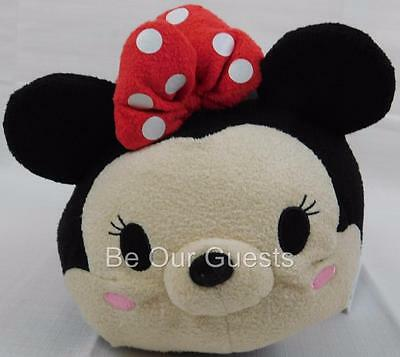 Disney Store Minnie Mouse Red Dress 11 in Tsum Tsum Plush Medium New with Tags