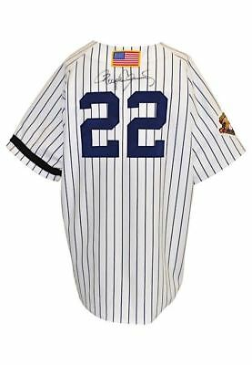 2001 Roger Clemens Signed Game Used New York Yankees Jersey With JSA COA