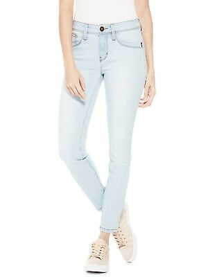 GUESS Factory Women's Beyla Curvy Mid-Rise Skinny Jeans