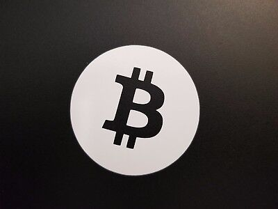 "2"" Bitcoin Decal Sticker Cryptocurrency Vinyl Cut"