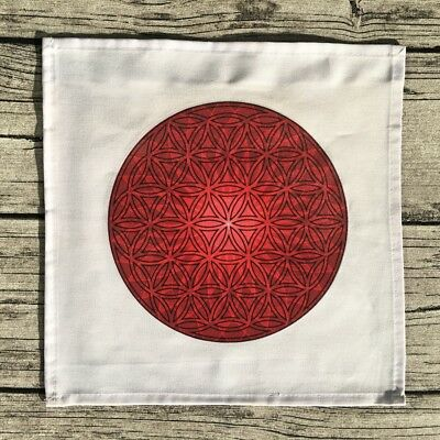 Crystal Grid Cloth - Red Energy Bliss