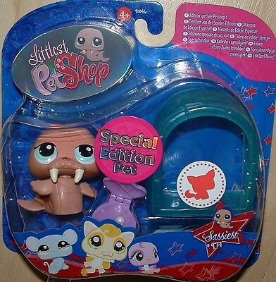Littlest Pet Shop SPECIAL EDITION WALRUS & IGLOO 977 RETIRED