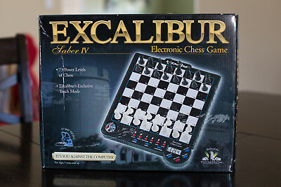 Excalibur Sabre IV 4 Chess Computer - 100% Complete! Tested!