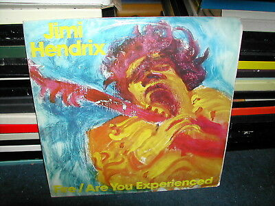 """Jimi Hendrix-Fire/Are you experienced 12"""" P/S 1982"""