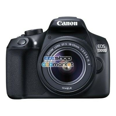 Canon EOS 1300D KIT (18-55 IS II) 1160C026AA Videocamere e fotocamere digitali