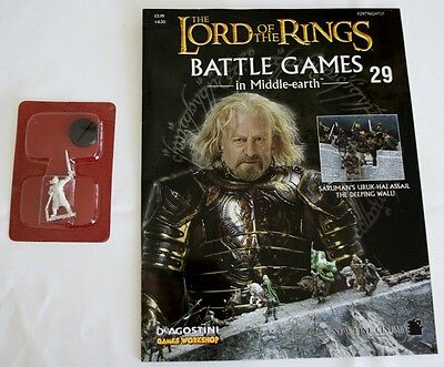 Lord Of The Rings:Battle Games In Middle-Earth–Issue #29 Magazine & miniatures