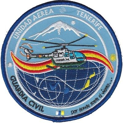 SPAIN GUARDIA CIVIL TENERIFE Police patch (HELICOPTER UNIT)
