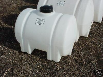 35 Gallon Horizontal Plastic Water Storage Container Tank Norwesco 45223