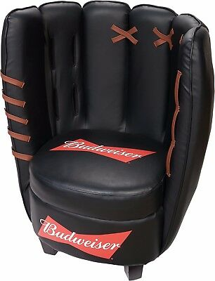 Collection 2016 Budweiser Baseball Chair, New , Black Color