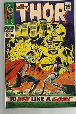Thor 139 - Silver-Age Classic - 6.0 FN