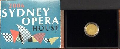 2006 Sydney opera house 1/25 oz gold coin - Perth mint