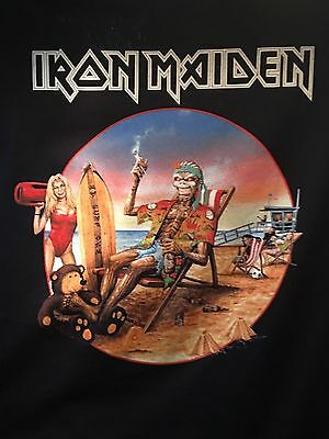 Iron Maiden - Book Of Souls 2017 Tour Exclusive California Event Only XL Shirt