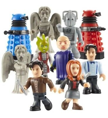 6 X UNDERGROUND TOYS DOCTOR WHO SERIES 1 MICRO-FIGURES Mystery Pack Sealed
