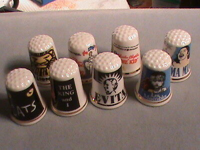 ESTATE THIMBLE COLLECTION Movies / Broadway 9 THIMBLES Gimble and Sons