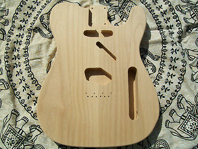 Telecaster Body In Red Alder