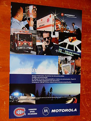 2006 Motorola Canadian Ad With Ambulance Mack Fire Truck Nypd Caprice Police Car