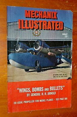 Jrf Patrol Plane On 1944 Mechanixs Illustrated Magazine Cover - Vintage Aviation