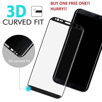 Galaxy Note 8 S8 Plus 3D Full Cover Tempered Glass Screen Protector for Samsung