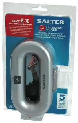 NEW Salter 9500SVDR Luggage Scale