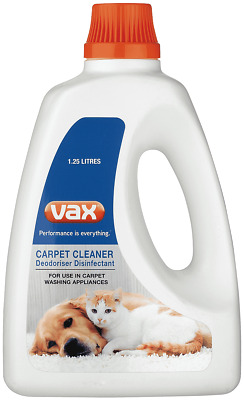 NEW Vax CCSOL125 Carpet Cleaning Solution 1.25 Litres