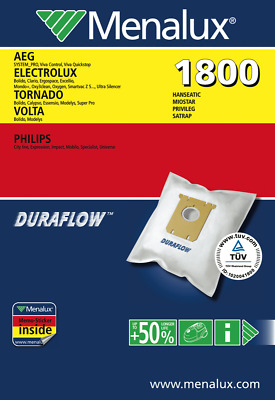 NEW Electrolux Floorcare 1800 Vacuum Bags 5 Pack