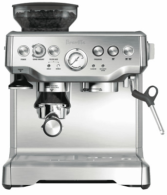 NEW Breville BES870BSS The Barista Espresso Coffee Machine