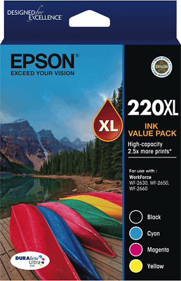 NEW Epson T294692 220 High Capacity DURABrite Ultra 4 ink Value Pack
