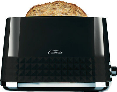 NEW Sunbeam TA1900K Diamond Toaster - Black