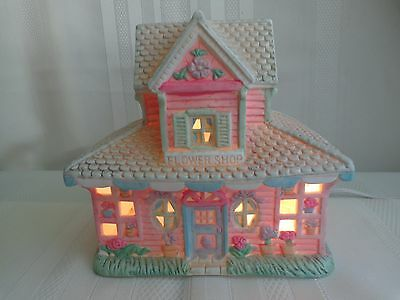 Midwest of Cannon Falls - Cottontail Lane - Flower Shop - Easter - Light & Box