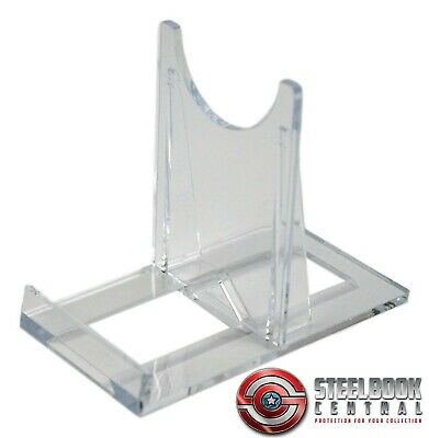 SS2 Blu-ray / DVD Steelbook Large Clear Plastic Display Stands (Pack of 10)