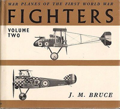 War Planes of WWI - FIGHTERS by J.M. Bruce
