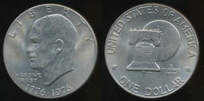 United States, 1976 One Dollar, $1, Eisenhower (Type 2) - Uncirculated