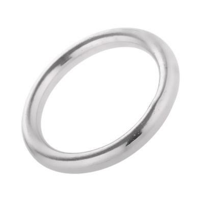 Welded Ring Stainless Steel O Round Rings Circle Craft Webbing Boat 25mm - 50mm