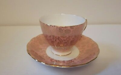 Colclough cup and saucer made in England tea cup set beautiful condition