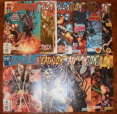Deathlok Marvel Tech Complete Set Run 1-11 1999 Joe Casey VF/NM 2 3 4 5 6 7 8 9+