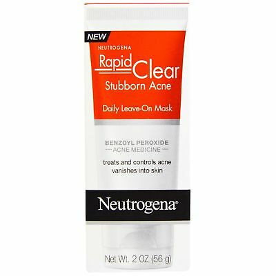 Neutrogena Rapid Clear Stubborn Acne Daily Leave-On Mask 56g acne